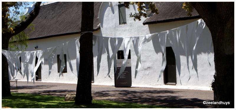 witte vlaggetjes